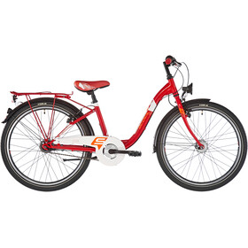 s'cool chiX 24 7-S steel Kinder red